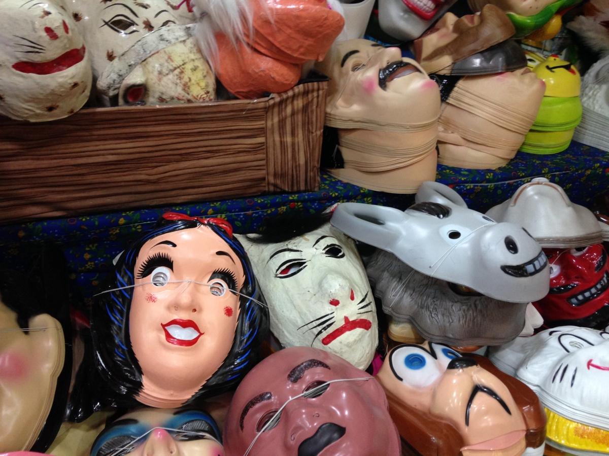 masks, Oaxaca, Mexico